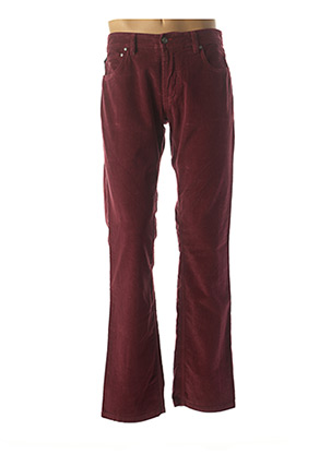 Pantalon casual rouge GS CLUB pour homme