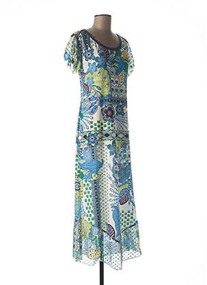 Robe mi-longue bleu LOLESFILLES pour femme