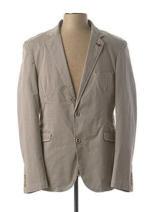 Veste chic / Blazer beige DELAHAYE pour homme