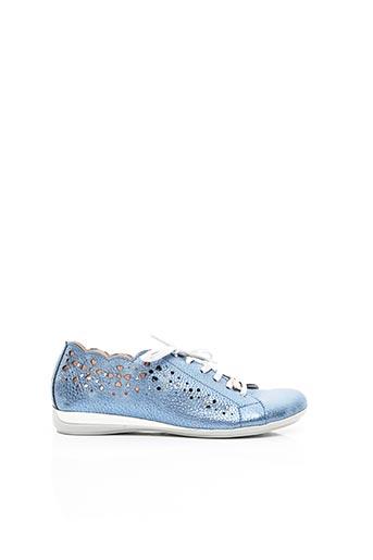 Baskets bleu JOSE SAENZ pour femme