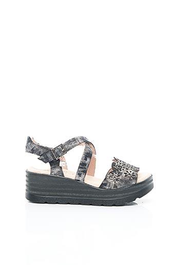 Sandales/Nu pieds noir JOSE SAENZ pour femme