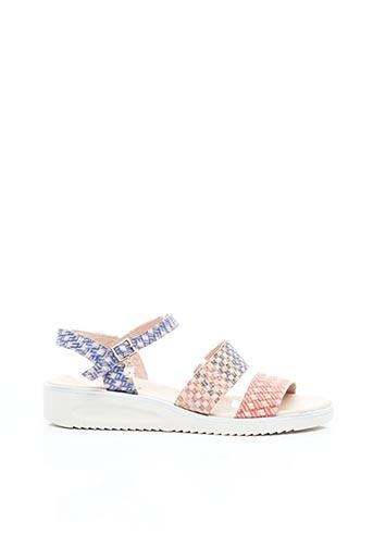 Sandales/Nu pieds rose JOSE SAENZ pour femme