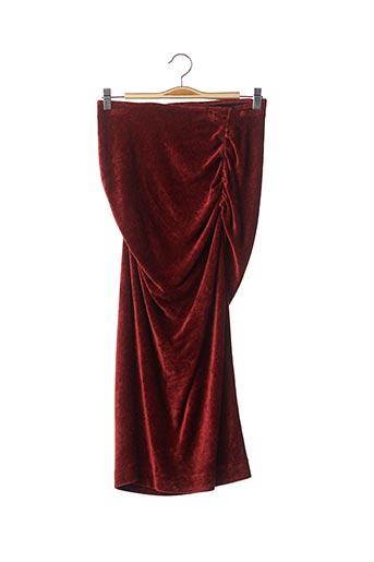 Jupe longue orange BY MALENE BIRGER pour femme