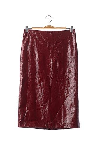 Jupe mi-longue rouge ERIKA CAVALLINI pour femme
