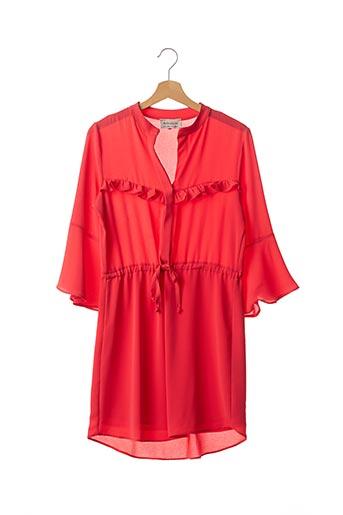 Robe courte rouge AMELIE & AMELIE pour femme