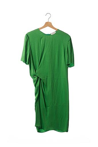 Robe mi-longue vert LANVIN pour femme