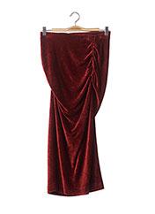 Jupe longue orange BY MALENE BIRGER pour femme seconde vue