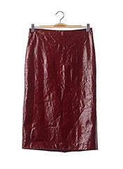 Jupe mi-longue rouge ERIKA CAVALLINI pour femme seconde vue