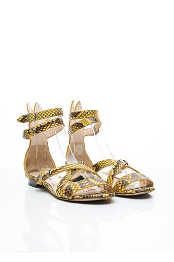 Sandales/Nu pieds jaune BALLY pour femme