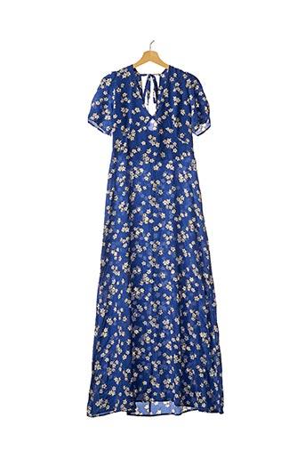 Robe longue bleu PAROSH pour femme