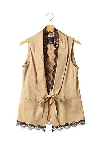 Veste casual beige PINKO pour femme