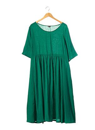 Robe mi-longue vert FLORY DAY pour femme