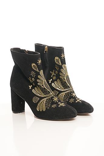 Bottines/Boots noir ANTIK BATIK pour femme