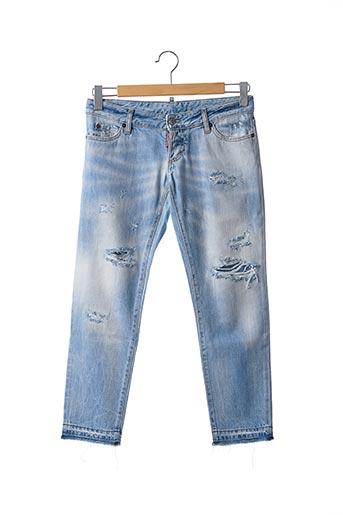 Jeans coupe slim bleu DSQUARED2 pour femme