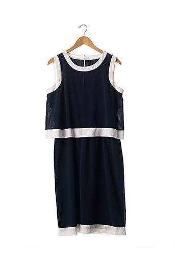 Robe mi-longue bleu ARMANI pour femme