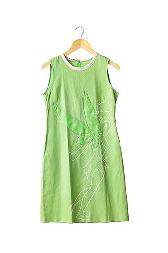 Robe mi-longue vert CASTELBAJAC pour femme
