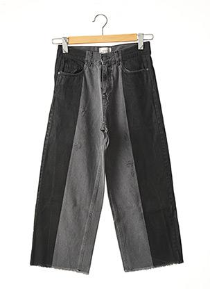Jeans coupe large noir VICCIO BARCELONA pour femme