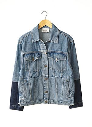 Veste en jean bleu BERENICE pour femme