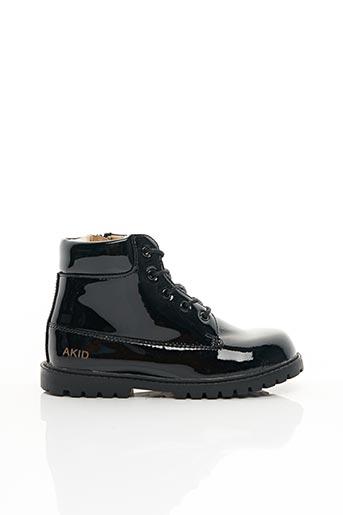 Bottines/Boots noir AKID pour fille