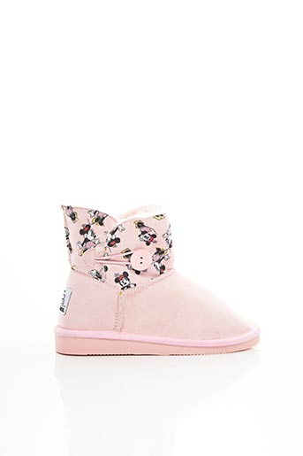 Bottines/Boots rose CANGURO pour fille