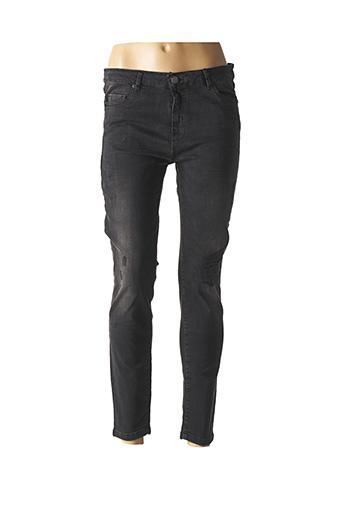 Jeans coupe slim noir ZAPA pour femme