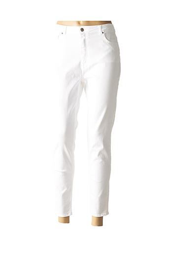 Pantalon 7/8 blanc ZAPA pour femme