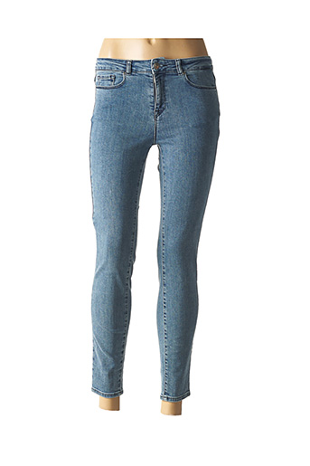 Pantalon 7/8 bleu ZAPA pour femme