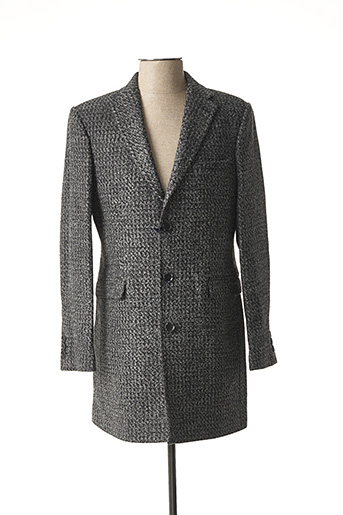 Manteau long gris GIORGIO DIMARE pour homme