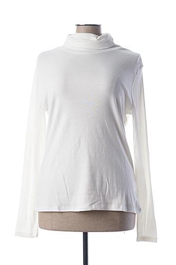 Sous-pull blanc BLANCHEPORTE pour femme