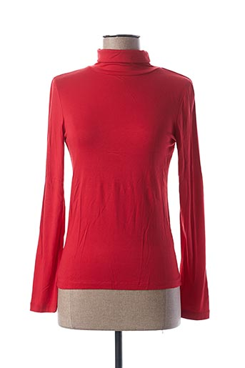 Sous-pull rouge BLANCHEPORTE pour femme