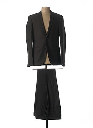 Costume de ville noir PASCAL MORABITO pour homme