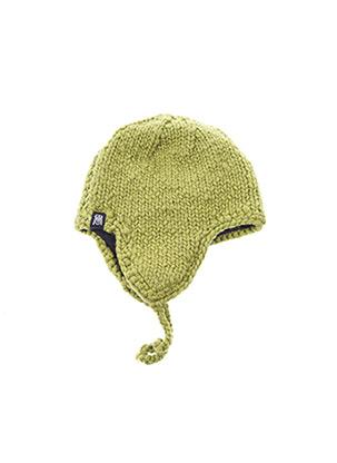 Bonnet vert SAM'O MAYA pour femme