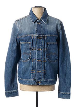 Veste en jean bleu MUSTANG pour homme