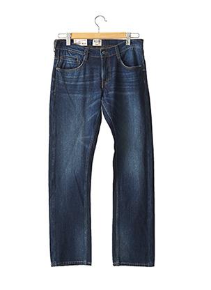 Jeans coupe droite bleu MUSTANG pour homme