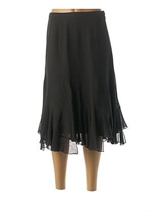 Jupe mi-longue gris FUEGO WOMAN pour femme