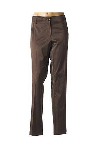 Pantalon chic marron APRIORI pour femme