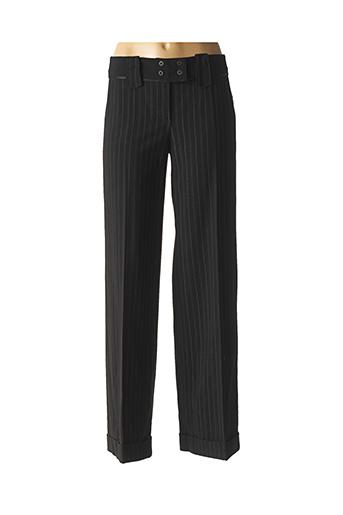 Pantalon casual noir DIDIER PARAKIAN pour femme