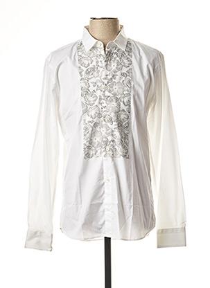 Chemise manches longues blanc PAUL & JOE pour homme