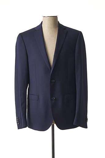 Veste chic / Blazer bleu KEAN 45 pour homme
