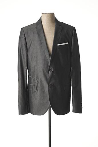 Veste chic / Blazer gris DANIELE ALESSANDRINI pour homme