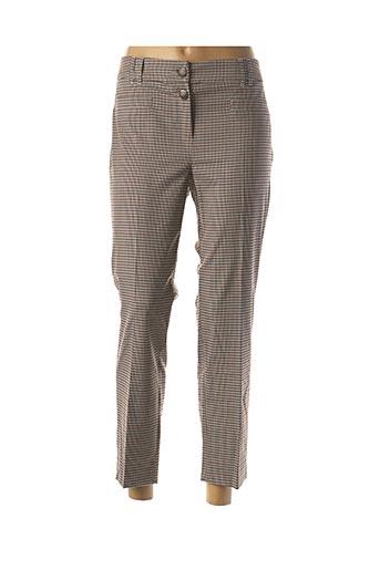 Pantalon 7/8 marron MARELLA pour femme