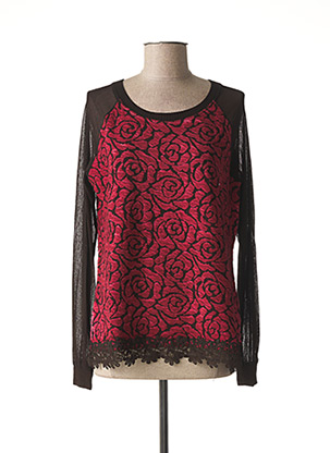 Sweat-shirt rouge MALOKA pour femme