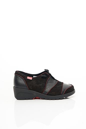 Chaussures de confort noir CLAMP pour femme