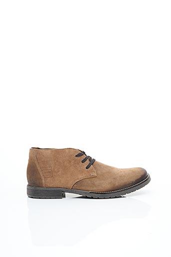 Bottines/Boots marron RIEKER pour homme
