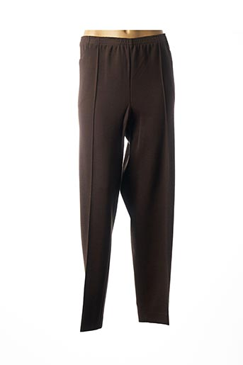 Pantalon casual marron GRIFFON pour femme