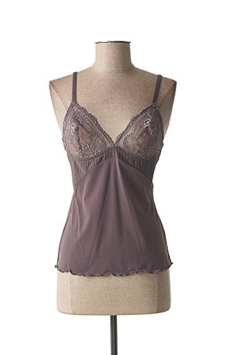 Top/Caraco violet SIMONE PERELE pour femme
