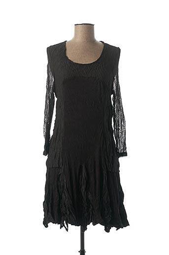Robe courte noir FRANSTYLE pour femme