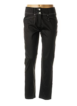 Pantalon 7/8 noir PAUSE CAFE pour femme