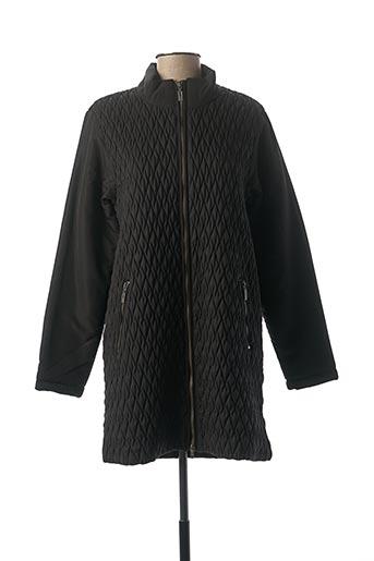 Manteau long noir CISO pour femme