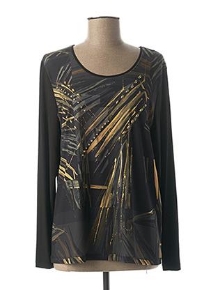 T-shirt manches longues vert ALAIN MURATI pour femme
